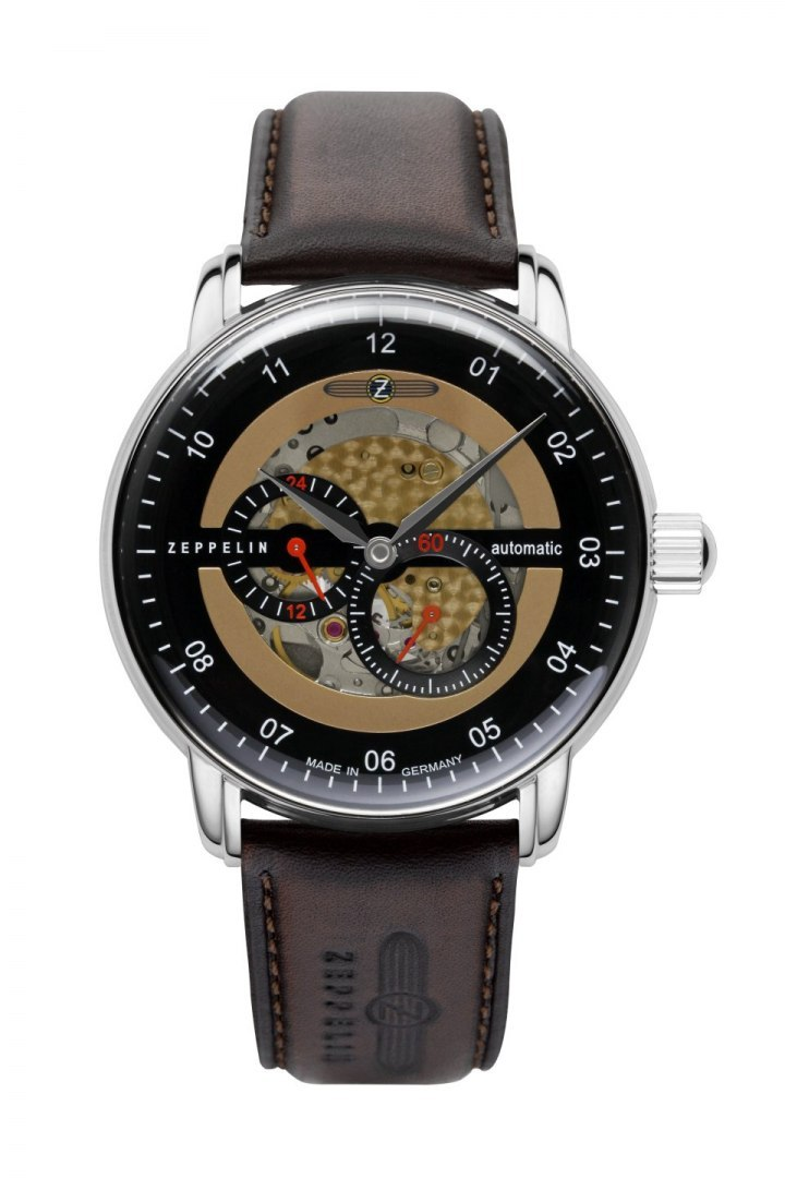 Zegarek Zeppelin New Captain's Line 8664-5 Automat